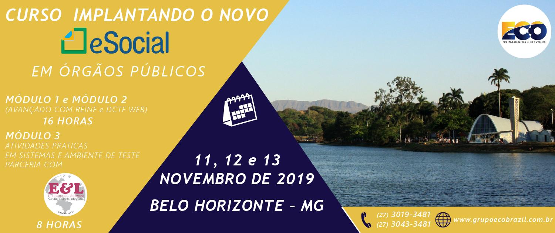 CURSO IMPLANTANDO BH NOVEMBRO 2019